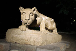 PSU Nittany Lion Statue