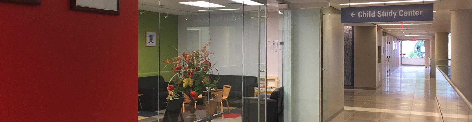 Child Study Center reception area