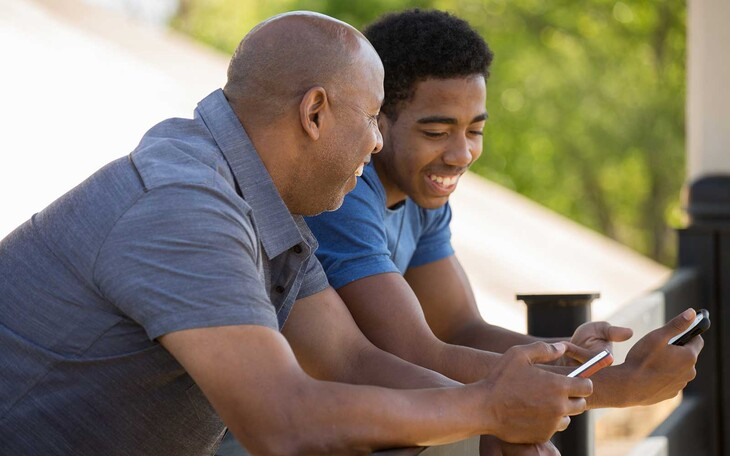 """Gregory Fosco and research team """"hope to smooth the transitions that accompany adolescence, giving long-term benefits to both parents and their children"""" with the development of a smartphone app."""